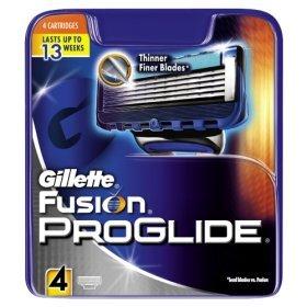 Gillette Fusion ProGlide Blades 4 Pack £6 @ Asda