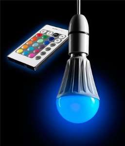 AURAGLOW 10w Remote Control Colour Changing LED Light Bulb B22, Super Bright Warm White Dimmable Version - 2nd Gen £18.99 Sold by Safield Dist. Ltd and Fulfilled by Amazon.