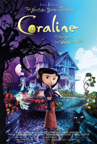 Coraline (DVD) £1.25 Delivered @ Asda Direct