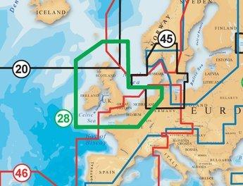 Navionics Gold XL9 28xg UK, Ireland & Holland  Chartplotter maps £167.80 @ ecdis-and-radar