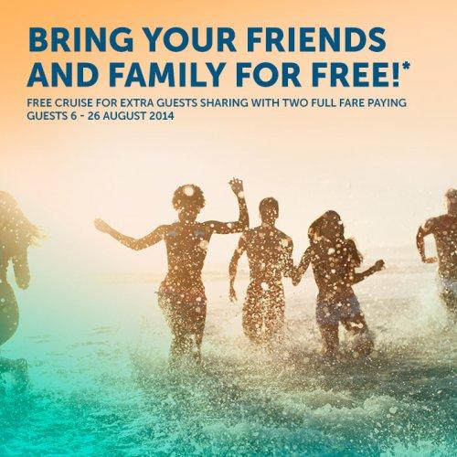 Norwegian Cruise Line - Family & Friends Cruise Free