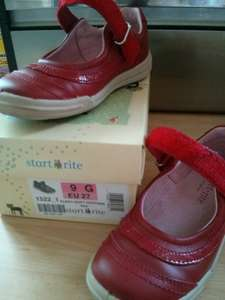 start rite flexy-soft feather red girls shoes @ John Lewis