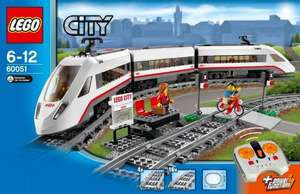 Lego City High speed Passenger train 60051 £60 @ Tesco Direct with code