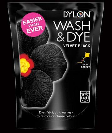 Dylon Wash and Dye Velvet Black - 350g £1.25 Instore @ Co-operative