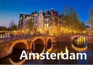 Amsterdam City Break 3 Nights just £97 each (for 4) including Flights, Hotel & Airport Trains @ Holiday Pirates (or Flight only from just £46.98 Return)