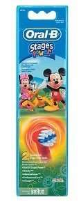 2 x Oral B Stages replacement toothbrush heads (Mickey Mouse) £4.99 @ eBay - TK Logistics, free P&P