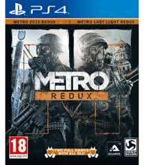 METRO REDUX (PS4 / XB1) Pre-order @ shop4world - £23.88 delivered with code