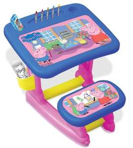 Peppa Pig Activity Desk In store £24.99 @ B&M