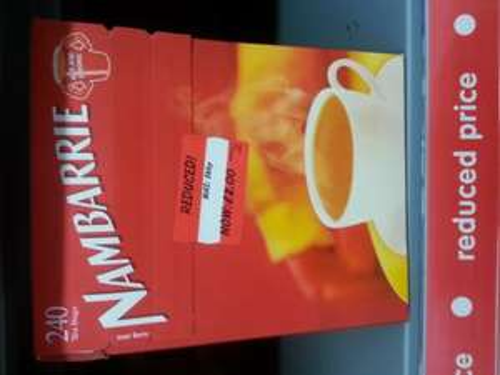 Nambarrie 240 Teabags Asda £2