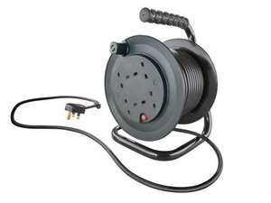 POWERFIX Extension Cable or Reel £9.99 Each from Monday 18/08/14 @ Lidl