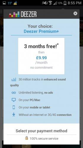 3 Months Free Deezer Premium+ Membership for Samsung Galaxy Users