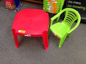 Children's Garden Furniture from 50p @ Homebase. Instore