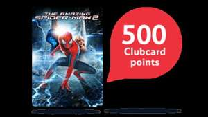 Buy The Amazing Spider-Man 2 and get 500 Tesco Clubcard points (worth upto £20 in deals) (£9.99 SD/£13.99 HD) @ Blinkbox
