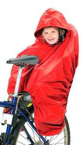 Hamax Child Bike Seat Rain Poncho @ Halfords 20% OFF - £26.99