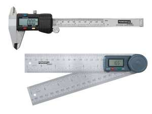 POWERFIX Digital Calliper or Angle Finder ..£8.99 per individual item (instore) LIDL