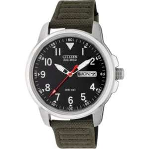 Citizen Men's Eco-Drive Canvas Strap Watch only Was £69.99 Now £59.99 Free C&C/Delivery £3.95 @ Argos