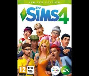 The Sims 4 Limited Edition (PC) pre-order - £33 with code at Tesco Direct