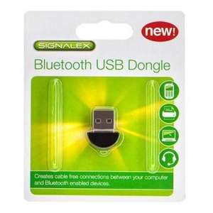 Signalex Usb Bluetooth Dongle @ poundland - £1