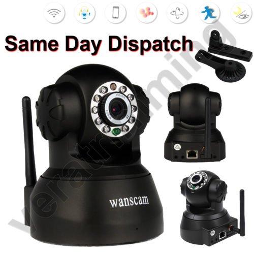 Wireless IP Wifi CCTV Security Camera Network IR Night Vision £25.99 @ Veratrimming Ebay