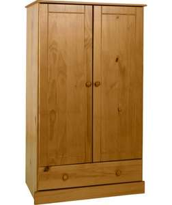 BabyStart Delfina Nursery Wardrobe - Solid Pine was £149.99 now £74.99 + delivery @ Argos