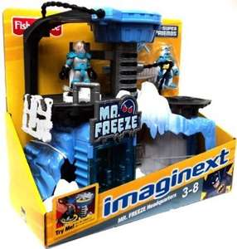 Fisher-price Imaginext Mr Freeze Headquarters £14.99 @ Argos Clearance Ebay