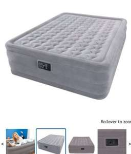 Plush Queen Size raised air bed with built in pump £48.99 at Costco