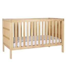 Kiddicare Mikah Cot bed - Natural £99.00 was: £199.00