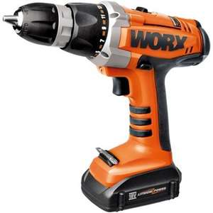 Worx WX163 18V Li Ion Drill Driver + 2 Batteries £39.93 @ Homebase + an extra 15% of this weekend (23-25th)