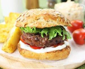 20 x 100% British Gourmet 4oz Steak Burgers for £5.00 @ Westin Gourmet (min £20 order for delivery, which is free as applied before discount) plus free gift if you link your Facebook account