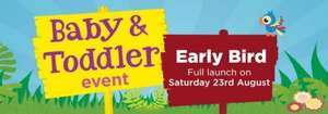 Asda Baby & Toddler event: (Live Now)