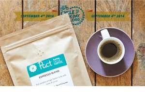 250g bag of delicious Pact Coffee for just £1 incl. P&P - a saving of £5.95 on the standard price!