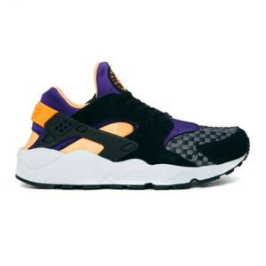 nike huarache black atomic mango £55 (size 6) at crooked tongues