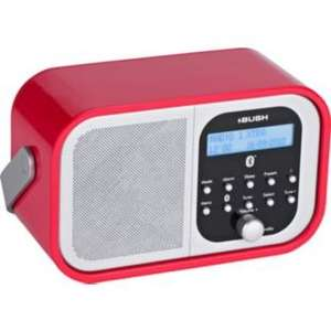 Bush DAB/FM Radio with Bluetooth in RED .... Only £24.99 at Argos