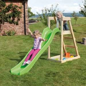 Half Price - Forest Wavy Slide with Sandpit £62.50  @ tptoys