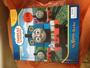 Thomas the Tank Engine My Busy Book £3.99 @ Sainsburys INSTORE
