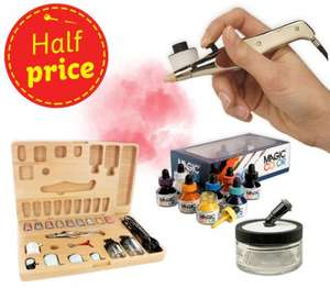 Half Price Airbrushes & accessories - Prices from £2.25 - 3for2 on Canvas' , Mount Board, Foam, Card - Plus 15% off with Newsletter & Potential 10% cashback Via Quidco @ HobbyCraft