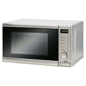 Sainsbury's 20L Stainless Steel Microwave Oven Was £79.99 now £39.99 @ Sainsbury's