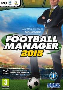 Football Manager 2015 (PC / Mac - Steam) £20.99 - 5% off with fb discount code - Preorder @ CDkeys - 19.95