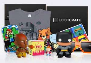 Loot Crate geek & gamer goodie box 10% off. £14.65 inc delivery