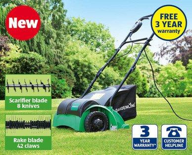 1200W Lawn Rake & Scarifier @ Aldi £59.99