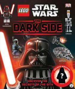 Lego Star Wars The Dark Side Hardback book and Exclusive Emperor Palpatine Minifigure £4.49 delivered at the Book People