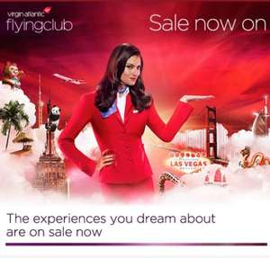 Virgin Atlantic Flight Sale - New York rtn from £375 - LA rtn  from £515 plus loads more