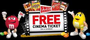 4 Snack Pack sweets and sweet Sunday cinema ticket for 4.36 @ SPAR or Tesco Express £4