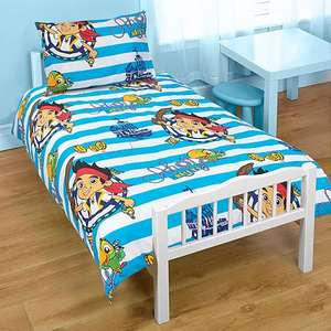 Junior/Cot Bed Duvet Sets: Hello Kitty / Jake & the Neverland Pirates / Doc Mcstuffins / Peppa Pig £9 @ Asda with code