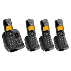 Binatone Symphony 3325 Quad Cordless Telephone £13.00 @ Tesco WAS £55!