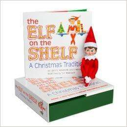 Elf on the Shelf Girl Light Doll With Book £18.32 @ Wordery