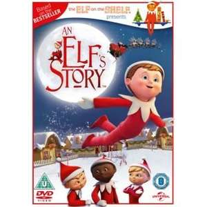 The Elf on the shelf DVD £2.99 at ARGOS with free home delivery