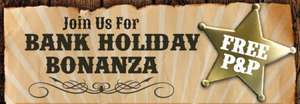 Bank Holiday Bonanza Reductions and Free delivery (selected items) @ Ideal World