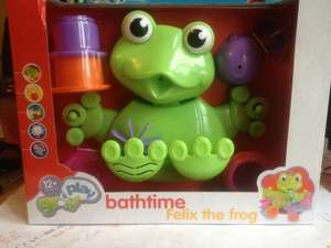 Felix the frog bathtime children's toy £2.40 @ Sainsburys instore