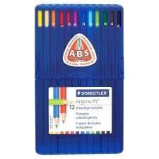 Staedtler Ergosoft Colour Pencils 12Pck reduced to half price, only £4 @ Tesco.com. (Sold out @ Tesco direct)